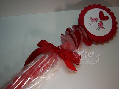 Valentines Candy kabob